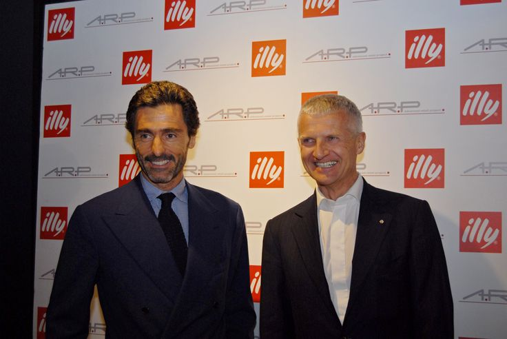 doc. Lorenzo Bassetti and doc. Andrea Illy at Illy Shop Rome's Grand Opening