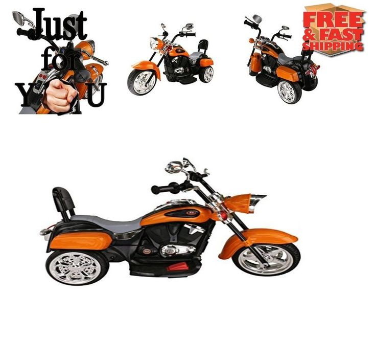 BEST Powered Wheel Ride on Motorcycle Trike Christmas Gift For Kid Boy Girl BABY #MIGOTOYS