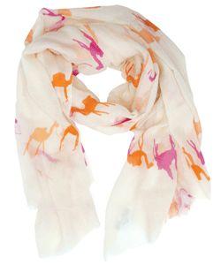 virginia johnson camel scarf