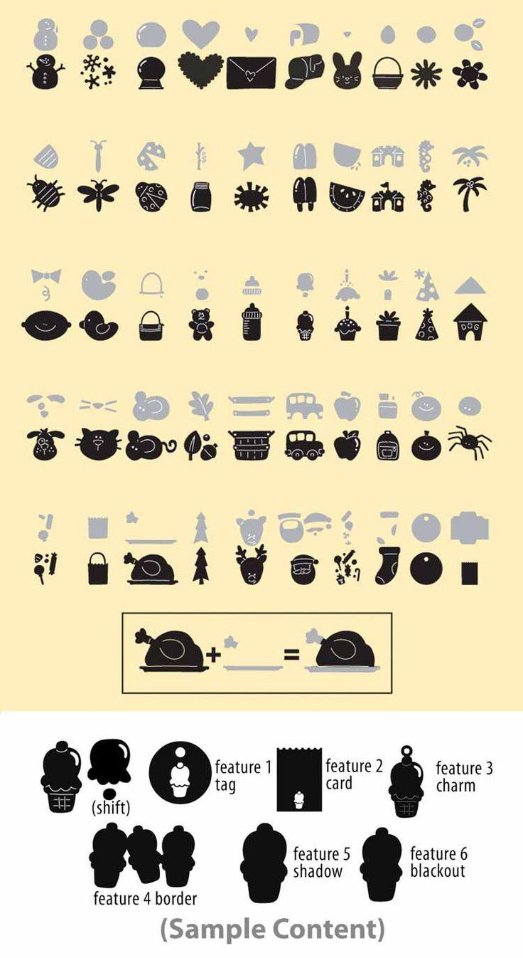23 best Cricut - My cartridges images on Pinterest | Cricut ...