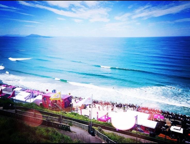 Beautiful Biarritz.