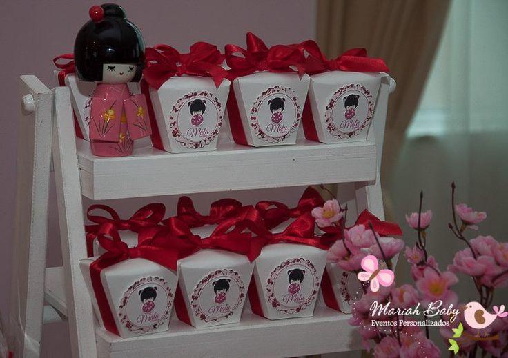 Festa Kokeshi | Boneca japonesa | Festa infantil menina | Decoração by Mariah festas #kokeshi #bonecajaponesa