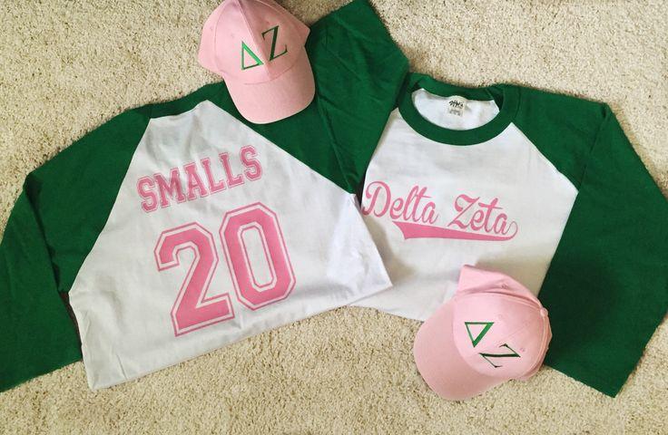 Big Little Sandlot/Baseball Theme Reveal Costume Delta Zeta Sassy and 17 on Etsy