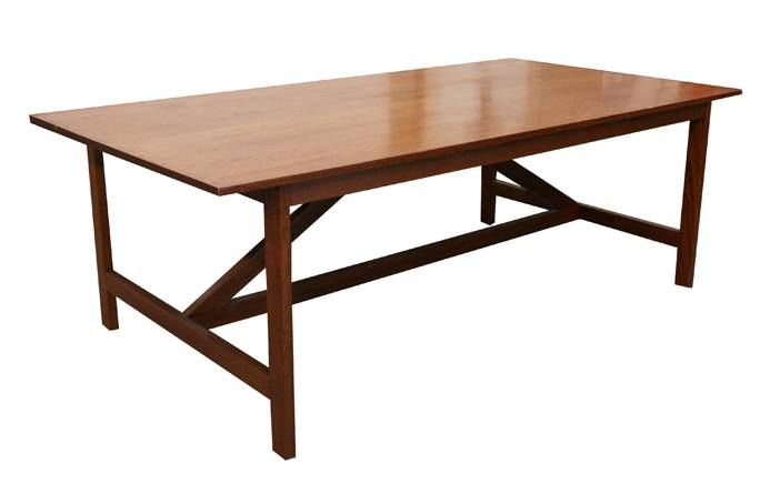 Loftwood Dining Table - Contemporary, Sleek, Simple, and Elegant