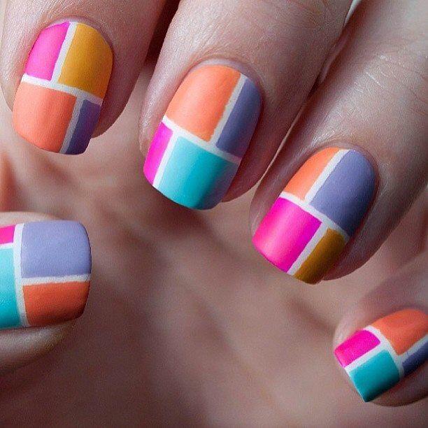 Check deze coole nagels!