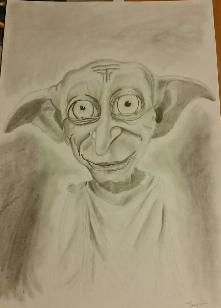 Dobby pencil drawing