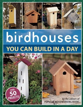 DIY Birdhouses - In a book you can get at Amazon.com