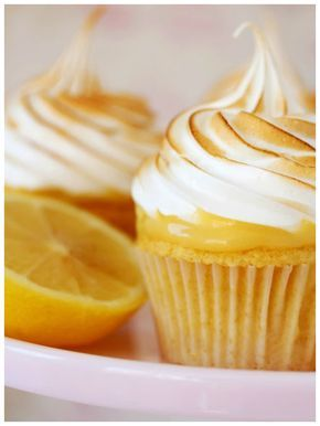 Cupcake de limón y merengue