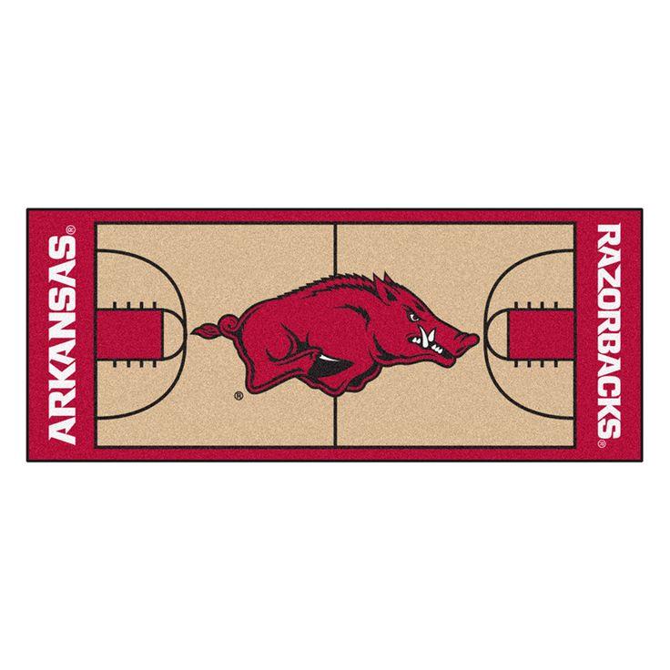 Arkansas Razorbacks NCAA Court Runner (29.5x72)