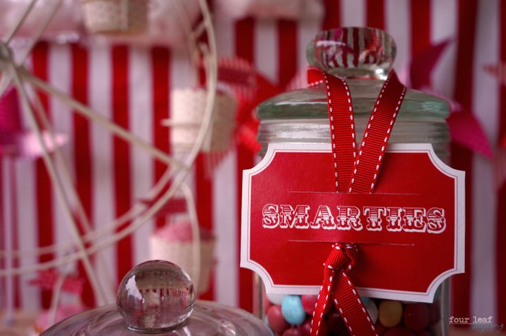 Candy bar labels by Four leaf Styling