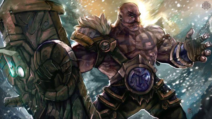 League of Legends Tribute - Braum by jorcerca on DeviantArt