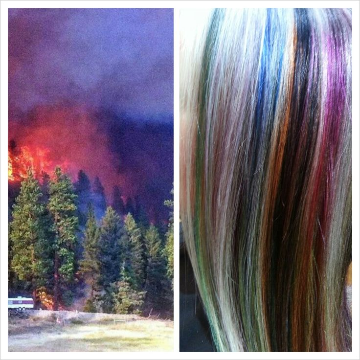 Elumen inspired by a Montana forest fire
