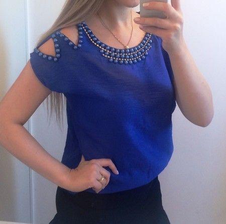 Blusa Bordada - Azul ou Pink - Pop Me Store                                                                                                                                                                                 Mais