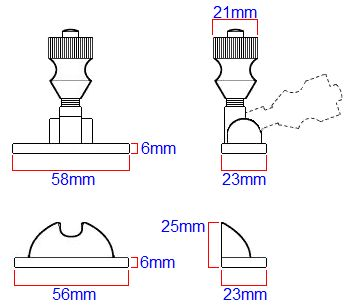 Diagram showing dimensions of a architectural quality Brighton pattern spring loaded sliding sash window fastener  sc 1 st  Pinterest & Best 25+ Sash window locks ideas on Pinterest | Door locks and ... pezcame.com