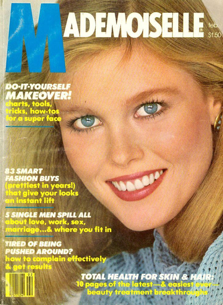 Feb 1980 Mademoiselle Magazine Nancy Donahue Ali MacGraw Vidal Sassoon 80s Ads