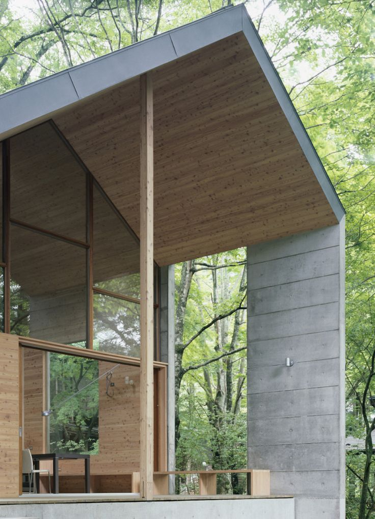 Omizubata N House in the Forest of Karuizawa by Iida Archiship Studio