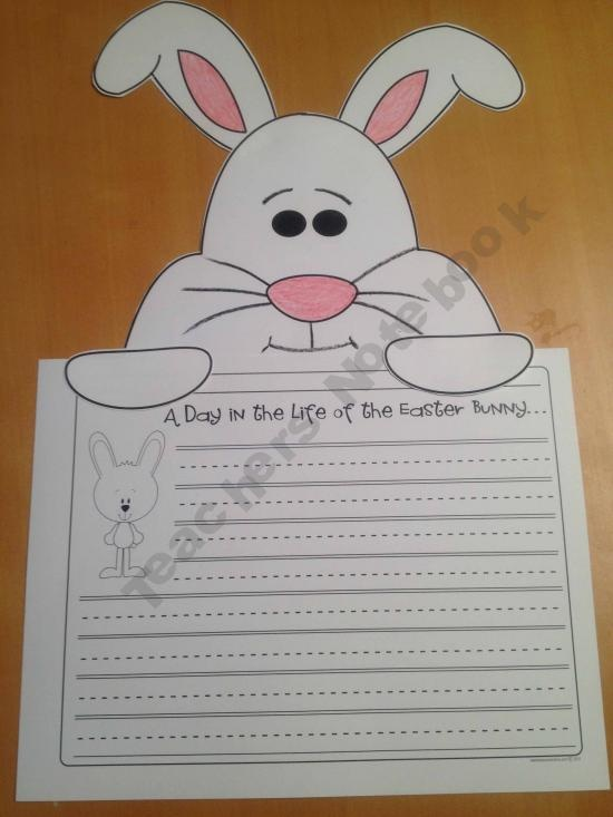 a day in the life of the easter bunny