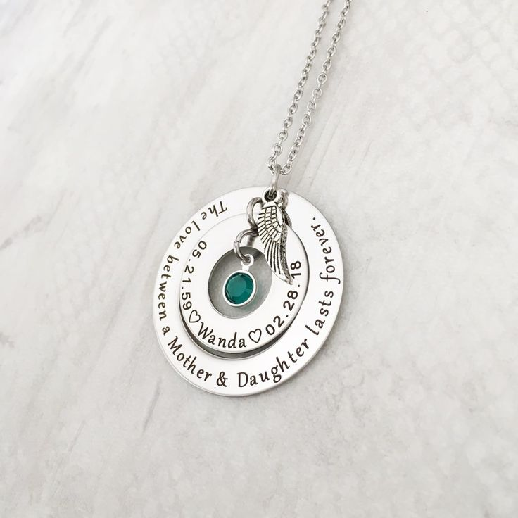 Son Memorial Gift Grief Gift Bereavement Eternity Circles Sorry for Your Loss Loss of Son Gift Sympathy Gift Son Remembrance Necklace