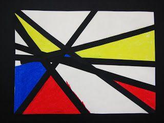 Piet Mondrian is our pal... | Dali's Moustache