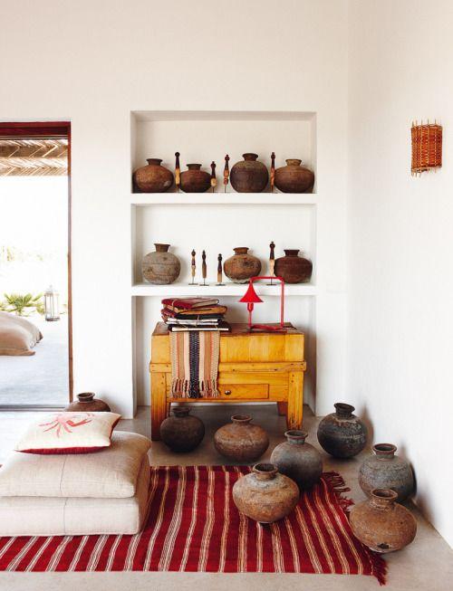 "mediterraneanfeel: "" A boho chic home in Formentera island , Spain """