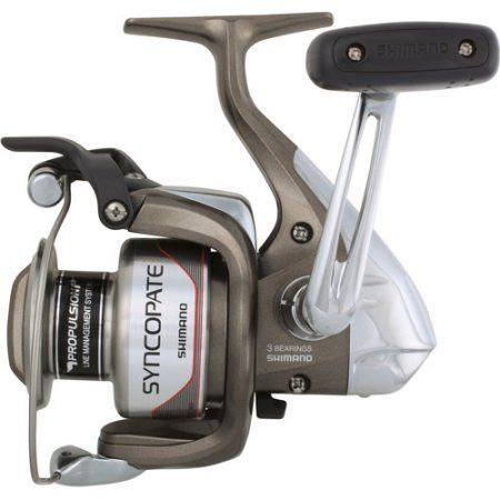 Shimano Syncopate Spinning Reel, Silver