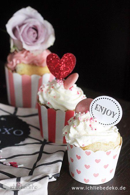 Valentinstag Cupcakes
