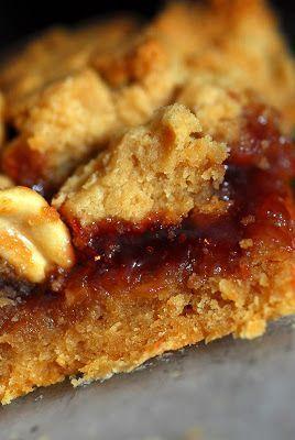 Sugar & Spice by Celeste: Peanut Butter & Jelly Bars - Ina Garten