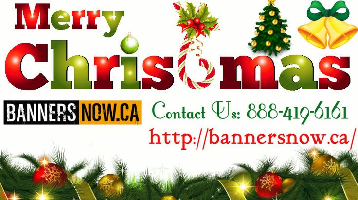Banners Now Wish You Merry Christmas To All. Bannersnow Is A Canada Based  Online Store