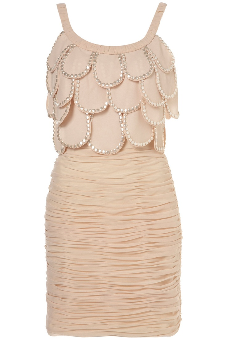 EMBELLISHED SCALLOP DRESS BY #STEPHNIE #ROLLAND