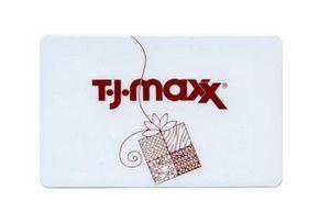 TJ Maxx gift card