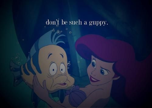 Sometimes I need to be reminded the same when watching a scary movie. :'D