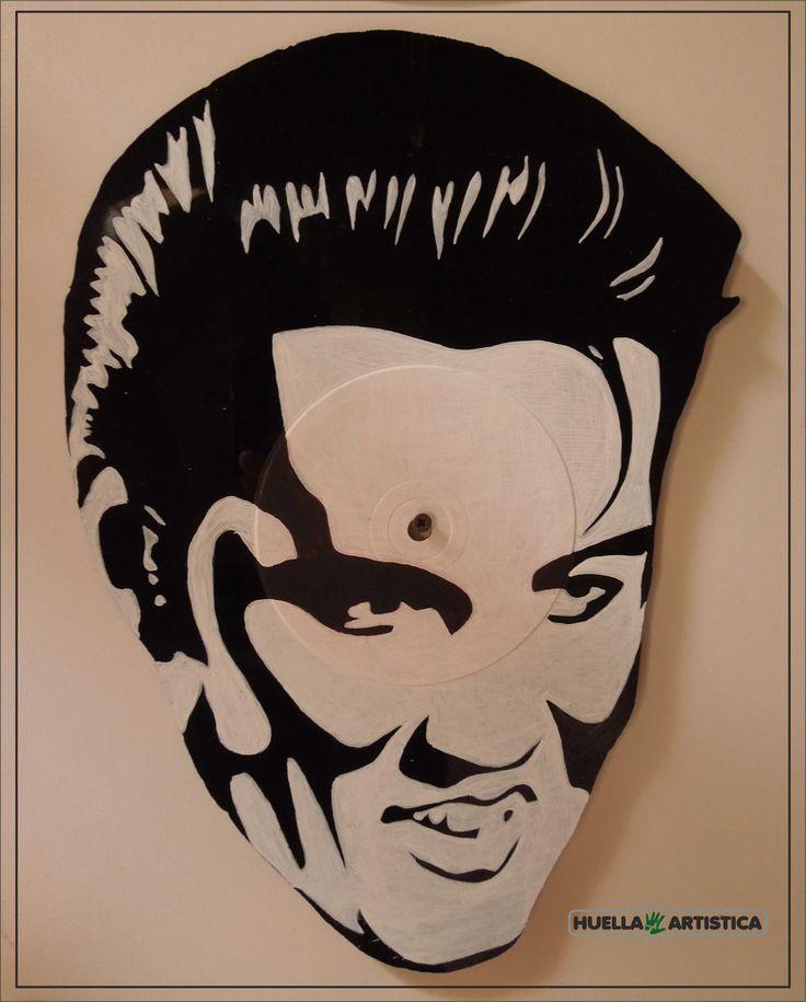 Vinilo Elvis Art - Desigñ Promoción en el Taller Huella Artística Incluso las ventas en la Web