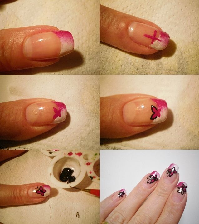 Step by step butterfly, tutorial
