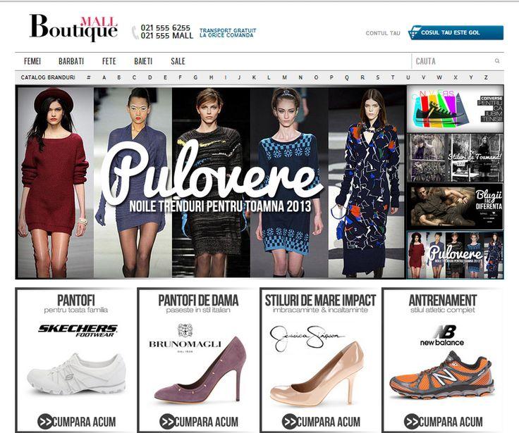 Shopping high-end 2.0 | Client: B-mall.ro
