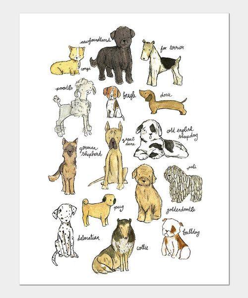 Puppy nursery wall art
