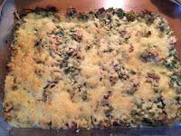 Koolhydraatarme recepten: Prei champignon quiche