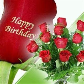 Happy Birthday rosas