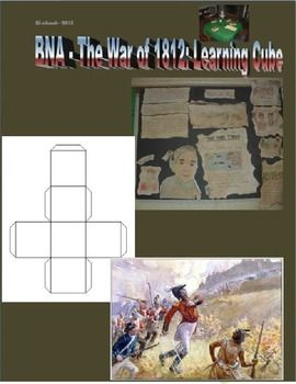 Students have the opportunity to show what they've learned about the War of 1812. They will have fun creating a learning cube that explores the causes, results and key figures of the war. Created by Ryan Richards Copyright © 2013 Ryan Richards All rights reserved by author.