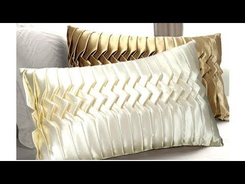 Make a Luxury decorative cushion with rare pleating technique .Make it with me. - YouTube