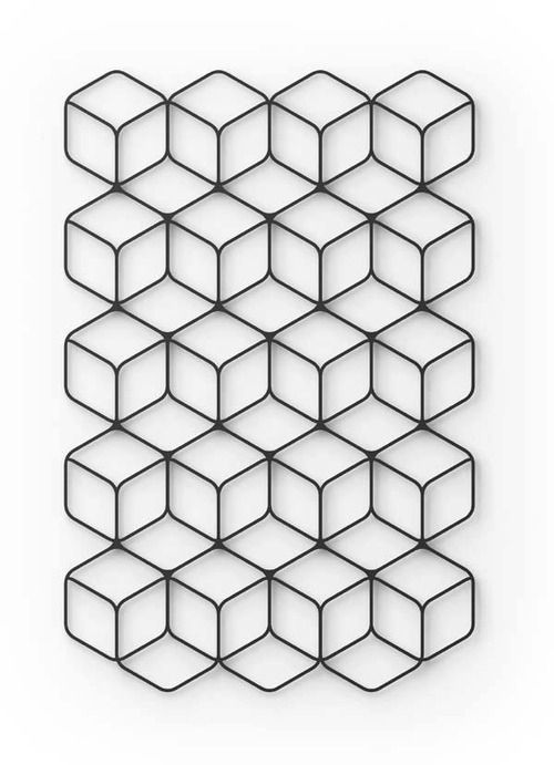 Fe Wall Unit by Fumie Shibata