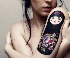 tatuagem da boneca russa Matryoshka 8