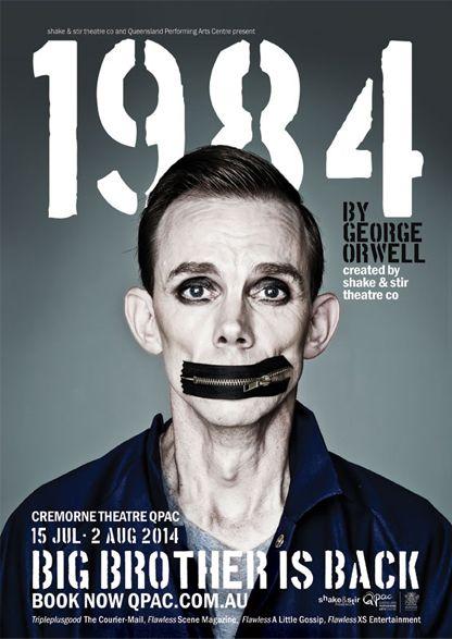 1984 | Theater poster Australia, 2014