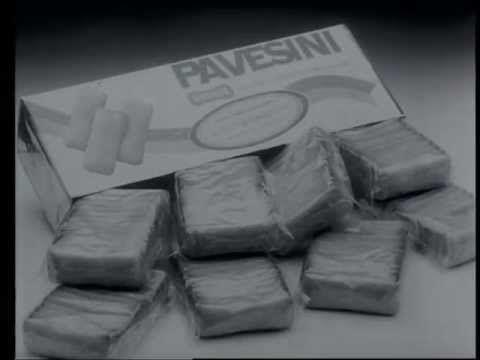 Pubblicità Pavesini - 1975