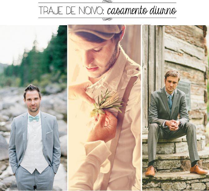 Traje de noivo para cerimônia diurna | Blog do Casamento