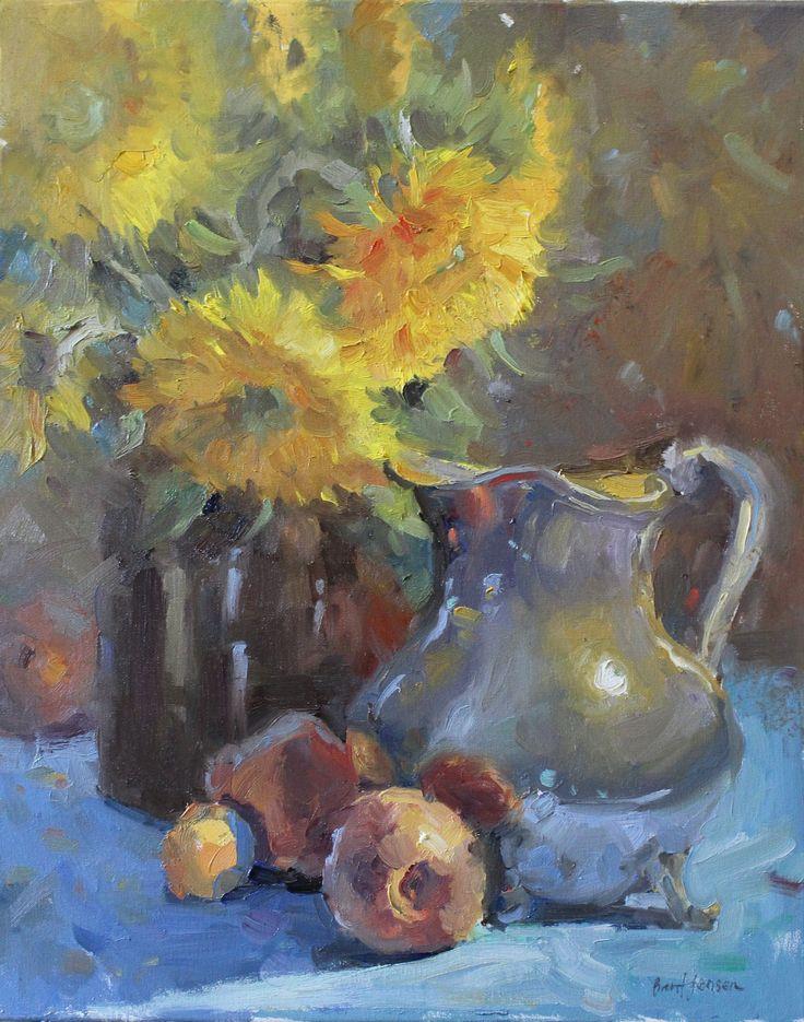 Sunflowers & Peaches