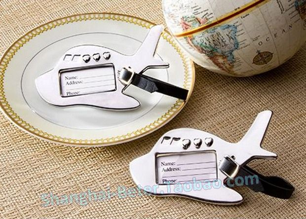 1388 best taobao wedding favors images on pinterest wedding airplane luggage tag perfect for destination weddings junglespirit Images