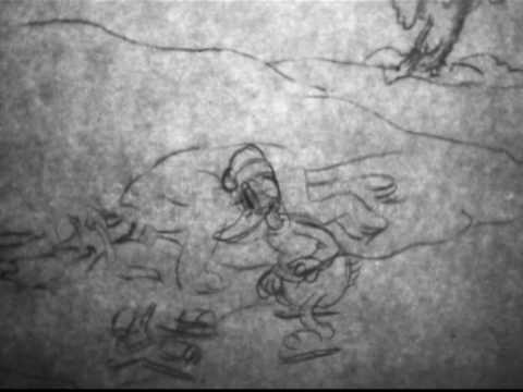 Mickey Mouse On Ice (1935) — Pencil Test So cool remember watching the finished version as a kid