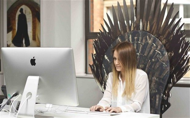 Think this Iron Throne replica is more suitable than your Aeron?