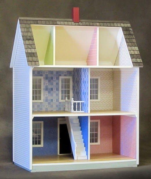 Maqueta de canales de distribucion facil de realizar for Distribucion de una casa