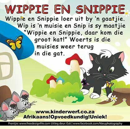 Wippie en Snippie | Afrikaanse rympies en liedjies